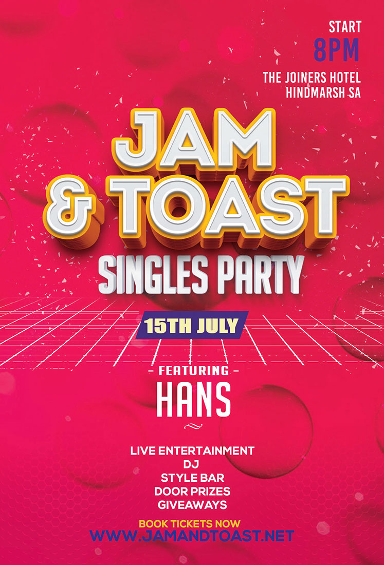 Jam and Toast Singles Party