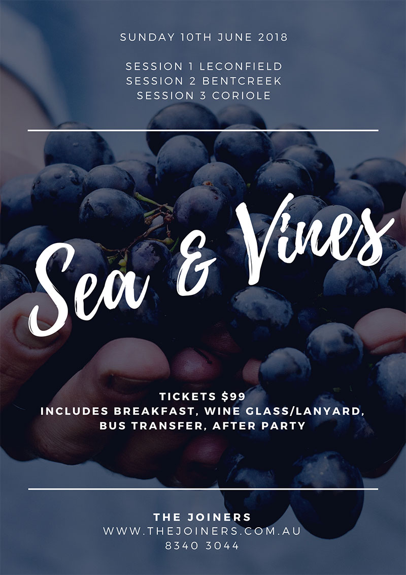 Sea and Vines Adelaide 2018
